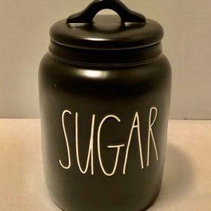 Black Rae Dunn Sugar Baby Canister